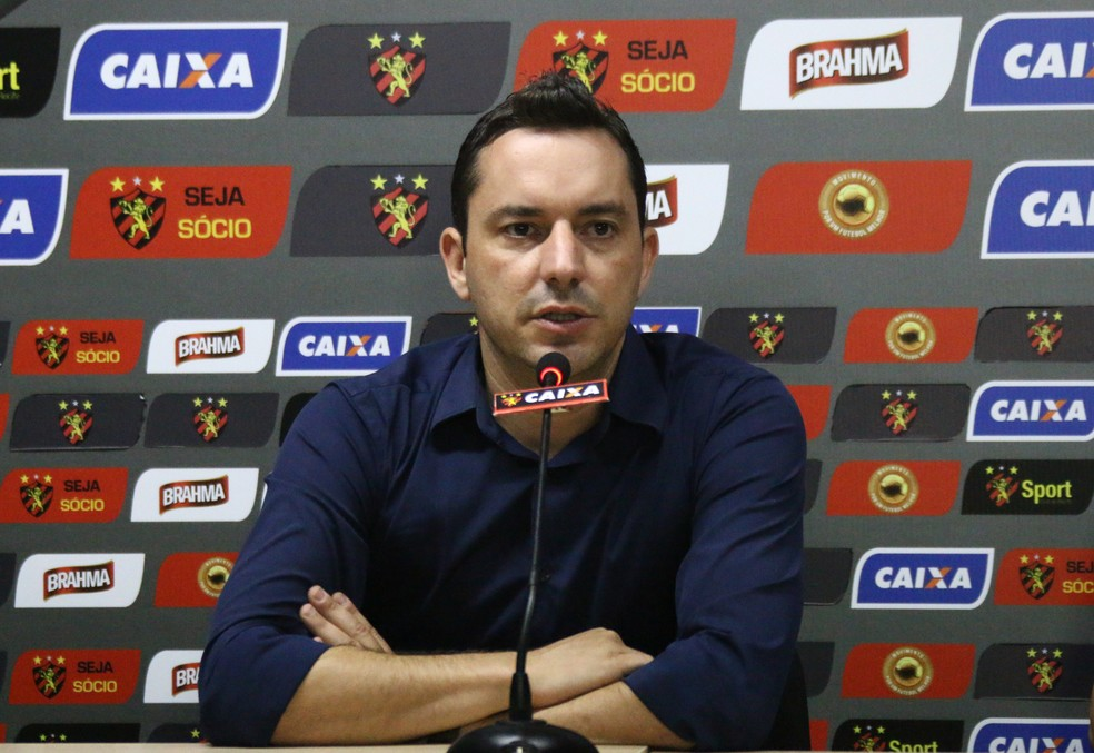 Klauss Câmara disse que internamente Sport vai chegar a soluções para time voltar a vencer (Foto: Williams Aguiar/ Sport)