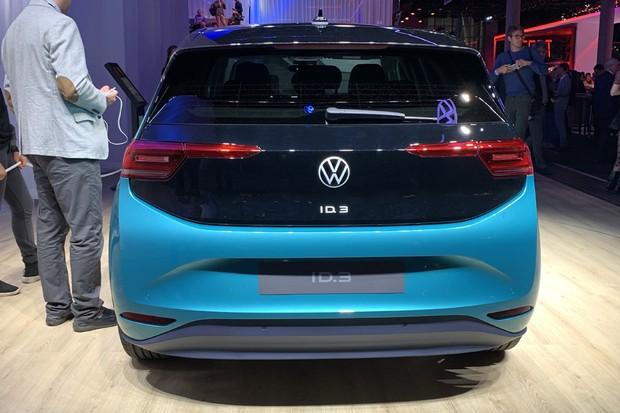 Volkswagen ID.3 (Foto: Raphael Panaro / Autoesporte)