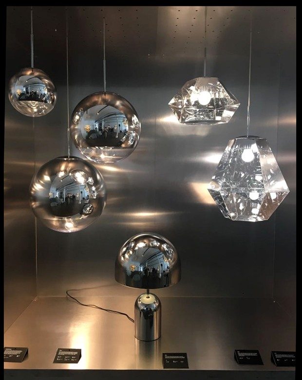 Tom Dixon showroom New York (Foto: Natália Martucci e divulgação)
