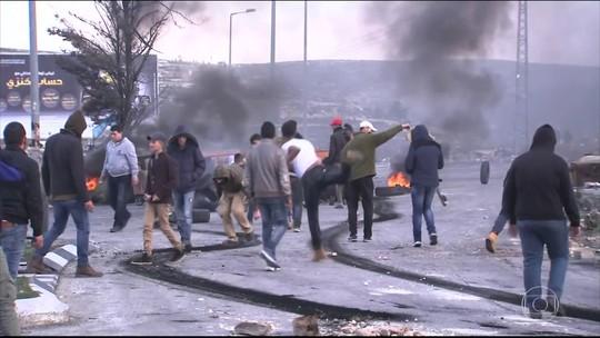 Anúncio de Trump causa protestos e Hamas convoca intifada contra Israel