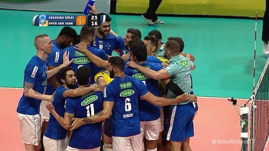 É hexa! Cruzeiro vence o UPCN e vira o maior campeão sul-americano de vôlei da história