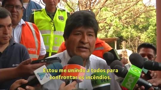 Presidente da Bolívia pede união de países pela Amazônia