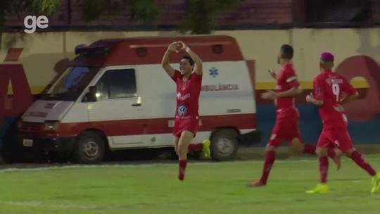 Com gol e assistência de Klebinho, Baré goleia o GAS, conquista o 2º turno e está na grande final