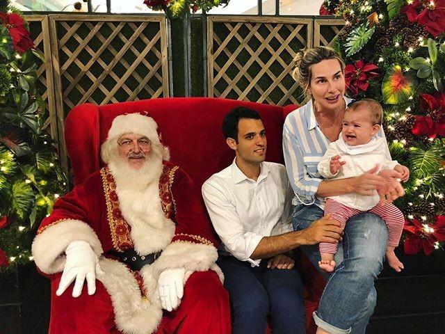 Mariana Weickert compartilhou o primeiro Natal da filha, Theresa (Foto: Reprodução/Instagram)