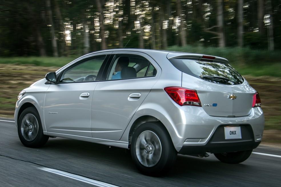 Chevrolet Onix também recebeu versão 1.4 Advantage automático (Foto: Chevrolet/Divulgação)