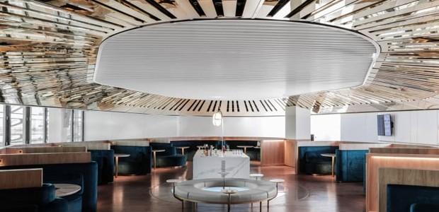 O lounge torna a espera do avião relaxante (Foto: Air France/ Reprodução)