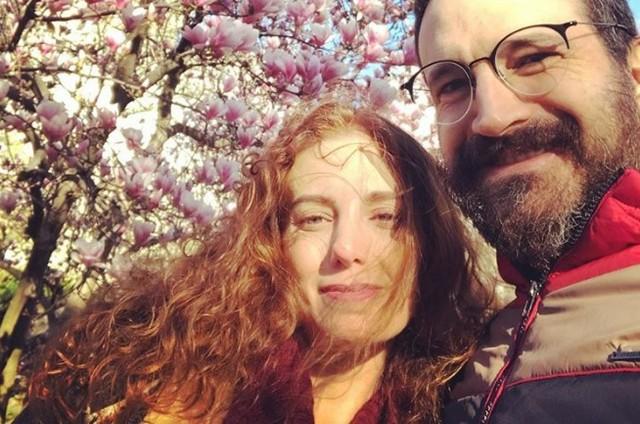 Caco Ciocler e a namorada, Paula Cesari (Foto: Reprodução)
