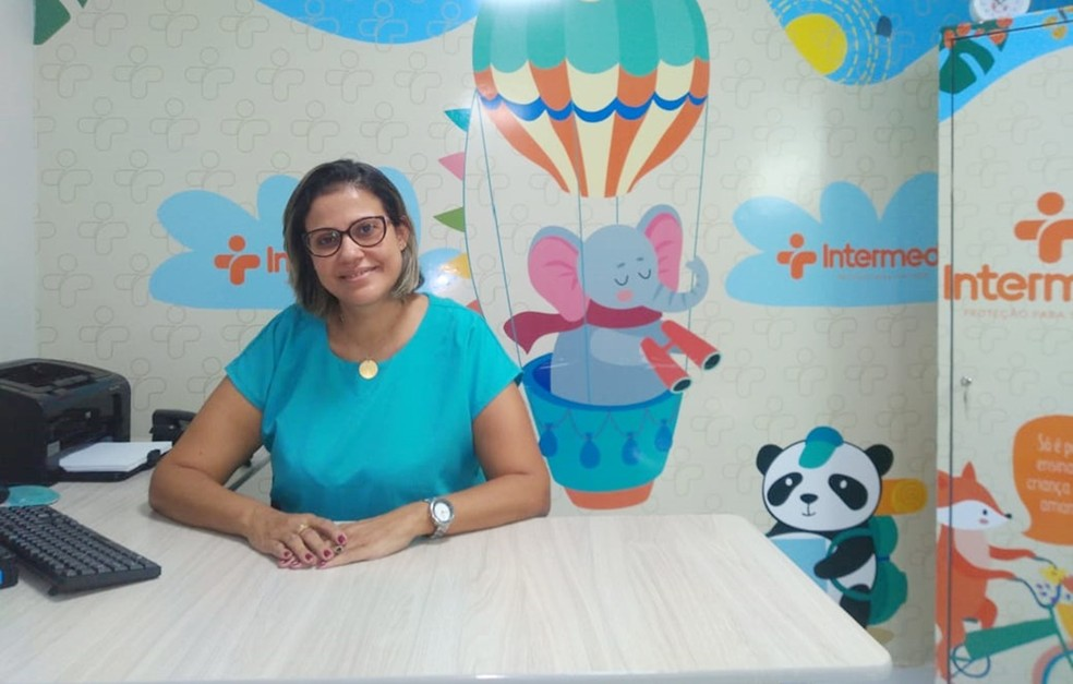 Márcia Fonseca, terapeuta ocupacional do Sistema Unimed Teresina. — Foto: Ascom Unimed Teresina