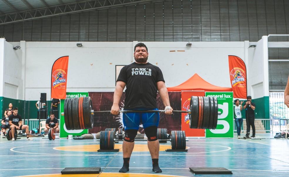 Cristian Quiroga é competidor mais jovem do Força Bruta 2021 — Foto: Divulgação