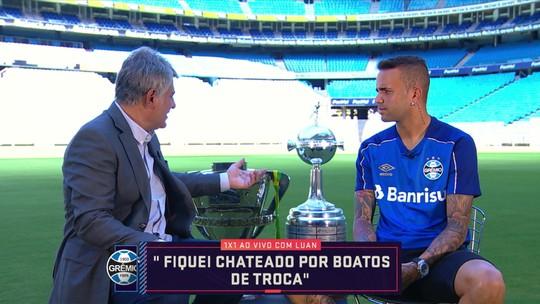 1x1 com Cléber Machado: Luan fala sobre Europa e diz ter jogado com dores em 2018 pelo Grêmio