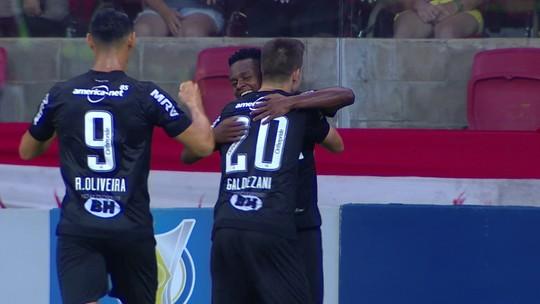 Atlético-MG vence o Inter por 2 a 1; veja os gols