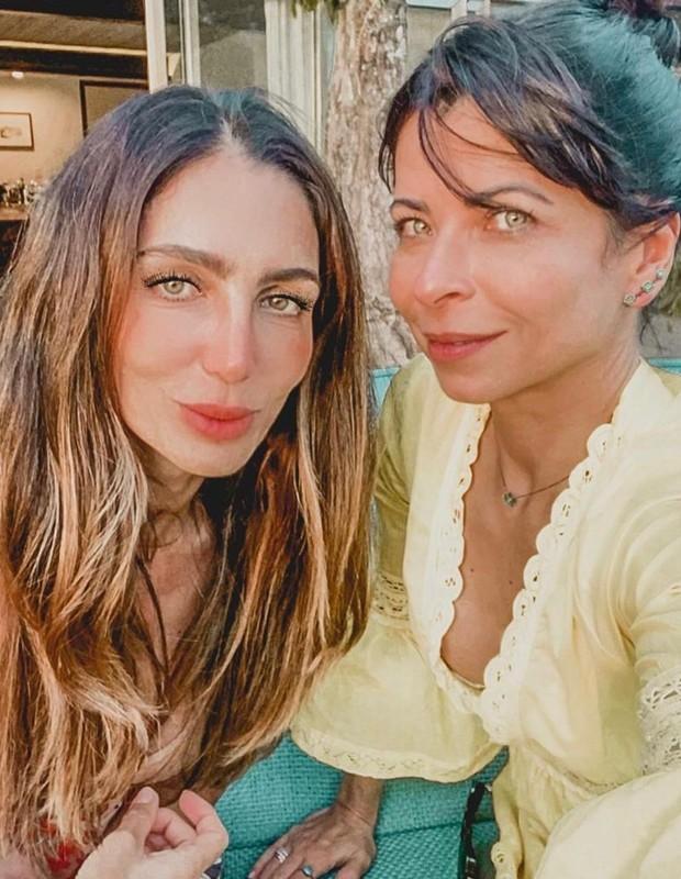Andrea Santa Rosa e Anna Lima (Foto: Reprodução/Instagram)
