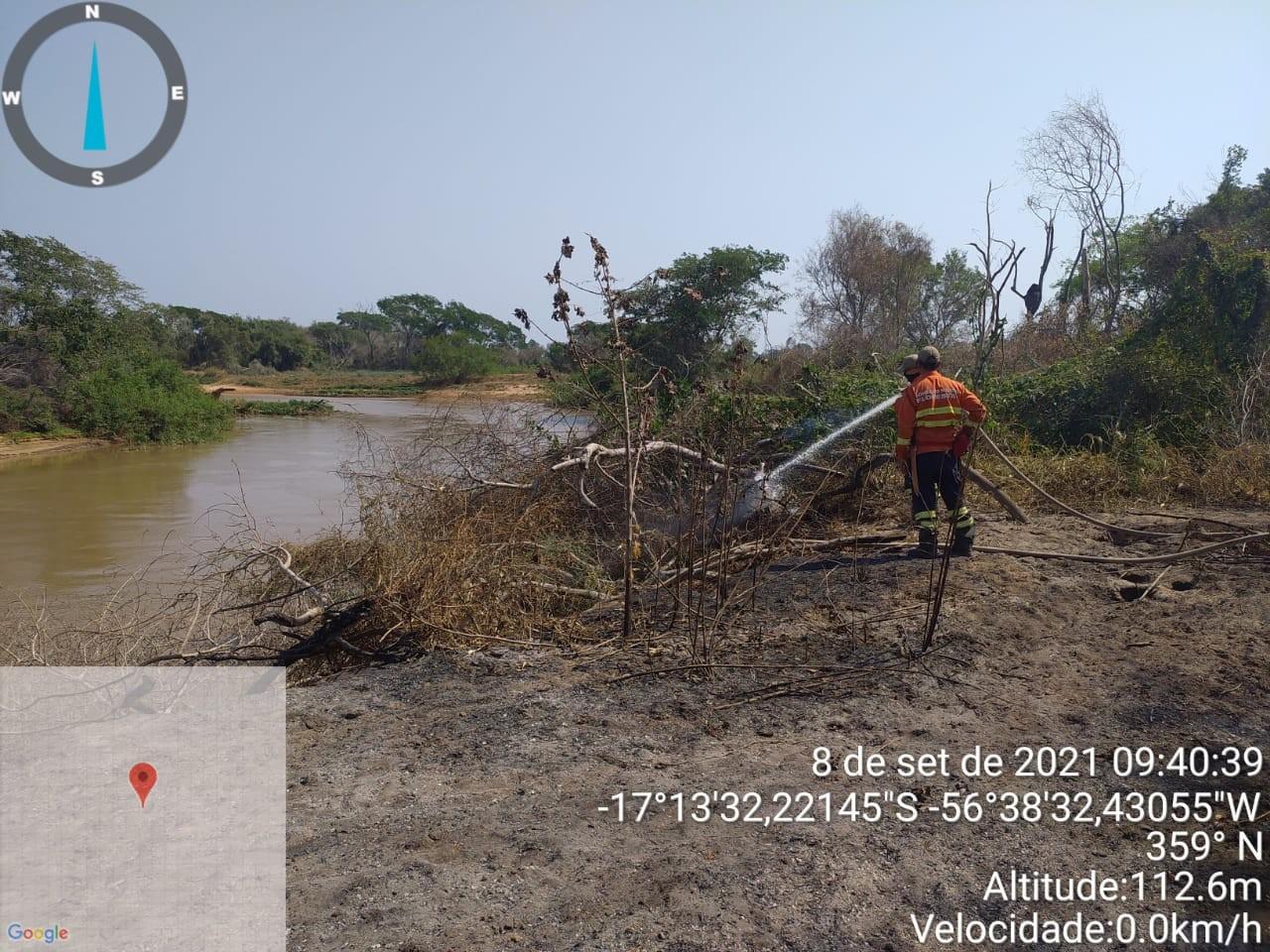 Incêndio no Parque Encontro das Águas (MT) é parcialmente controlado após 20 dias
