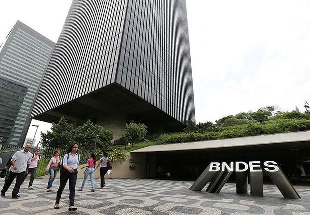 Sede do Banco Nacional de Desenvolvimento Social (BNDES) no Rio (Foto: Sergio Moraes/Reuters)