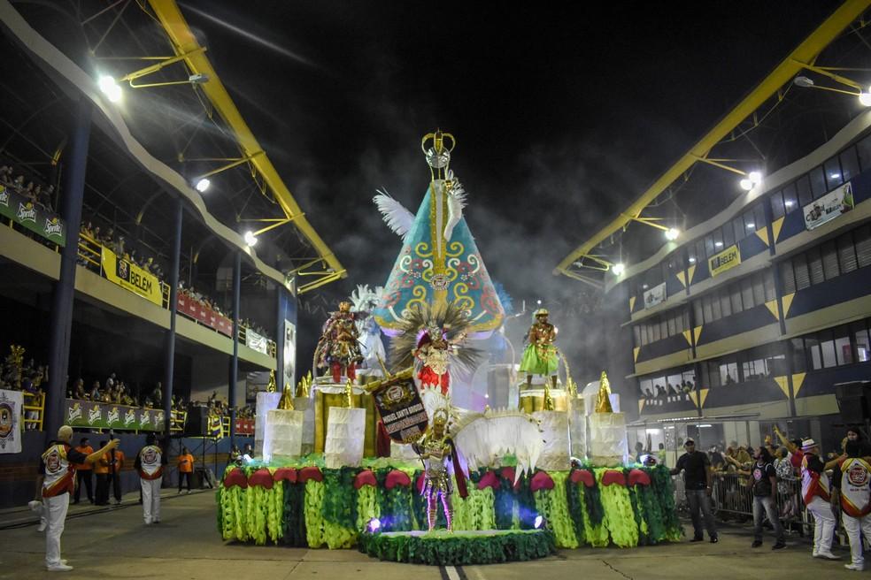 Piratas da Batucada vence carnaval 2020 em Belém — Foto: Fernando Sette / Agência Belém