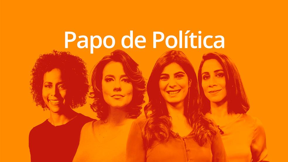 Podcast Papo de Política — Foto: Comunicação/Globo