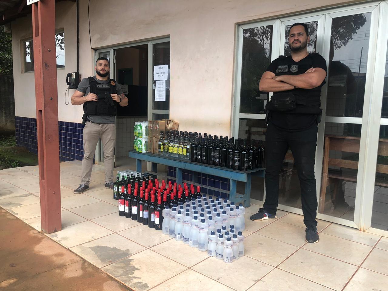 Polícia recupera parte de carga roubada na BR-163, em Belterra
