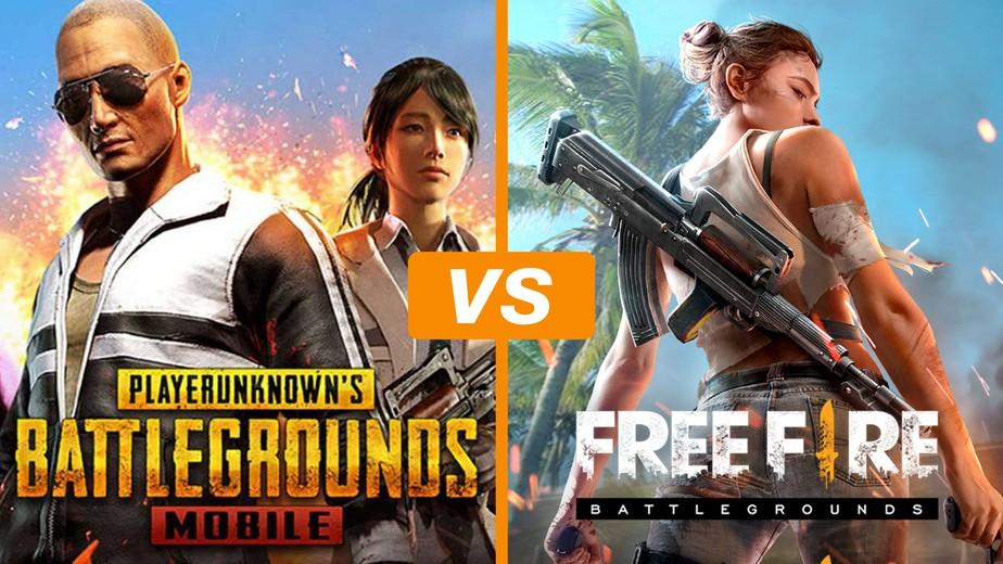 Pubg Mobile Ou Free Fire Battlegrounds Veja O Melhor Battle Royale - pubg mobile ou free fire battlegrounds veja o melhor battle royale