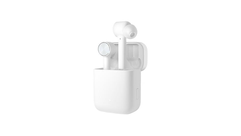 Fone da Xiaomi tem design que lembra os AirPods mas compromete na bateria — Foto: Divulgação/Xiaomi