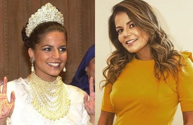 Nívea Stelmann viveu Ranya, a segunda esposa de Said. Morando nos EUA, esse ano a atriz fez uma participação em 'Verão 90'  (Foto: TV Globo / Reprodução Instagram)