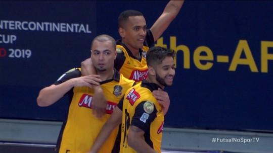 Os gols de El Pozo 2 x 3 Sorocaba pela Mundial de Clubes de Futsal 2019