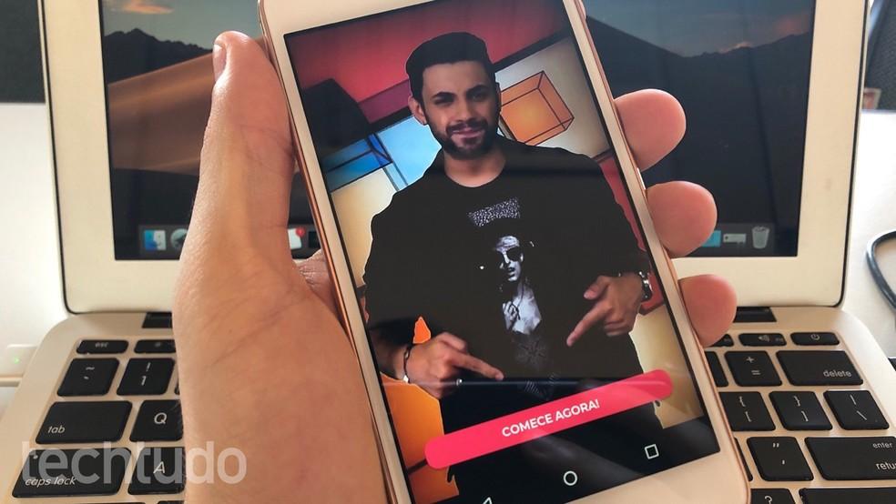 App Quize oferece premiações em dinheiro para participantes de game show — Foto: Helito Beggiora/TechTudo