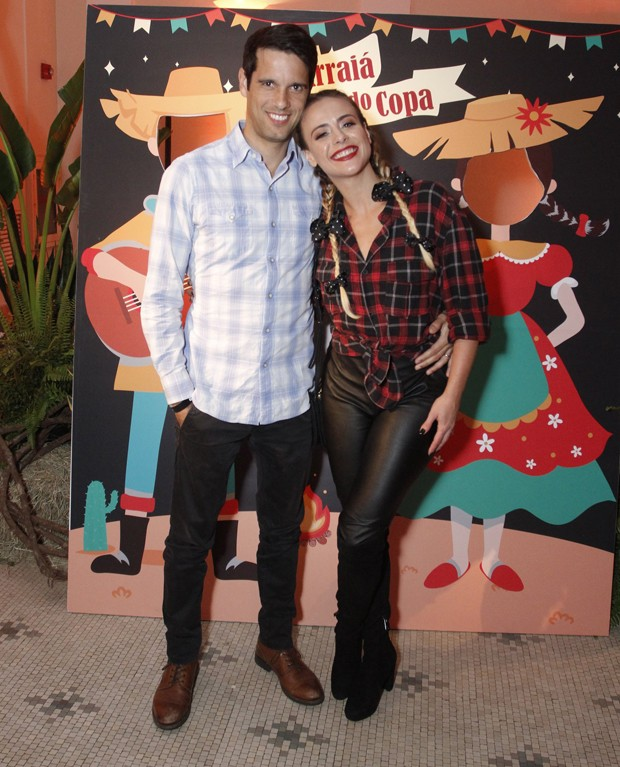 Juliana Silveira e o marido, João Vergara (Foto: Thyago Andrade/Brazil News)