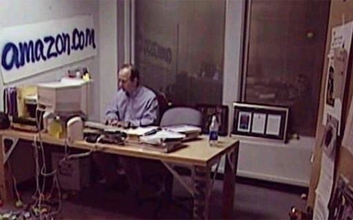 Veja a foto do primeiro escritório da Amazon, a gigante do e-commerce -  Pequenas Empresas Grandes Negócios | Startups