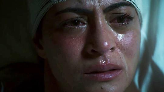 Helena expulsa Basma (Dalila) de seu quarto: 'Vá embora daqui'