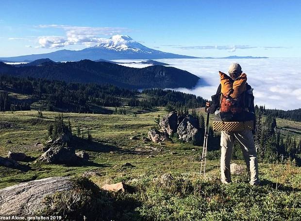 Goat Rocks Wilderness é uma área popular para caminhadas longas na região de Washington (Foto: Twitter/ Reprodução)