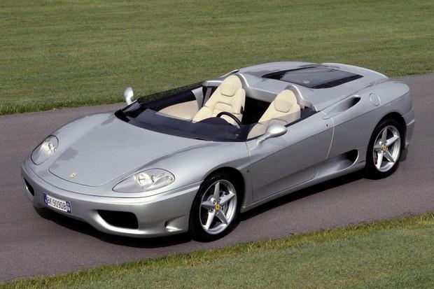-360 Barchetta-Modello fuoriserie realizzato da Pininfarina-Regalo di Gianni Agnelli a Luca di Montezemolo in occasione del suo matrimonio avvenuto il 7 luglio 2000. (Foto:  )