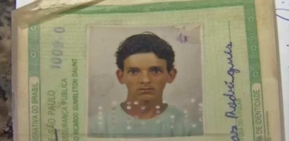 Claudinei Rodrigues, de 40 anos, foi encontrado morto em sítio — Foto: TVCA/Reprodução