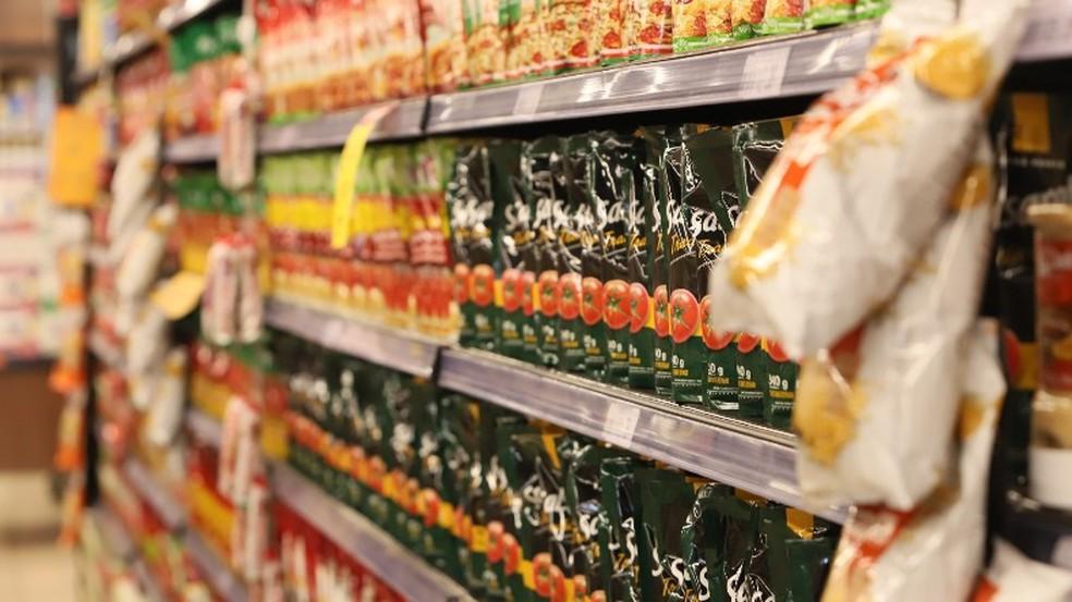 Preço dos alimentos em alta pressiona o orçamento das famílias — Foto: Amanda Rocha/A Cidade ON/Araraquara