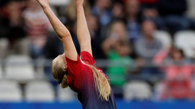 Utland fez o segundo gol das norueguesas