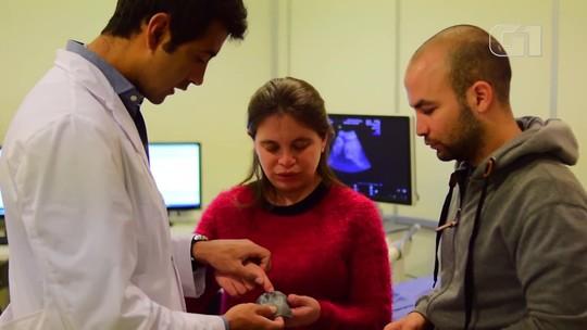 Impressora 3D ajuda que cegos 'vejam' ultrassom de bebê durante gravidez; vídeo