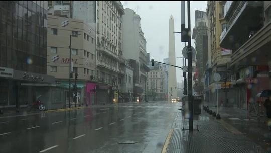 Energia volta na maior parte da Argentina e Uruguai afetada por apagão