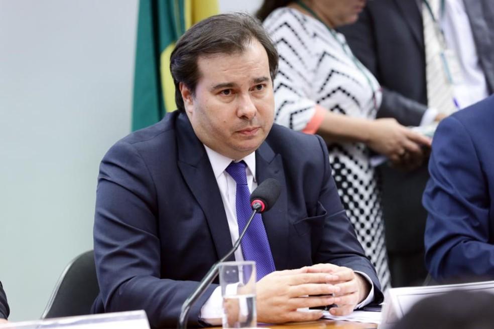 O presidente da Câmara dos Deputados, Rodrigo Maia (DEM-RJ) — Foto: Michel Jesus/Câmara dos Deputados