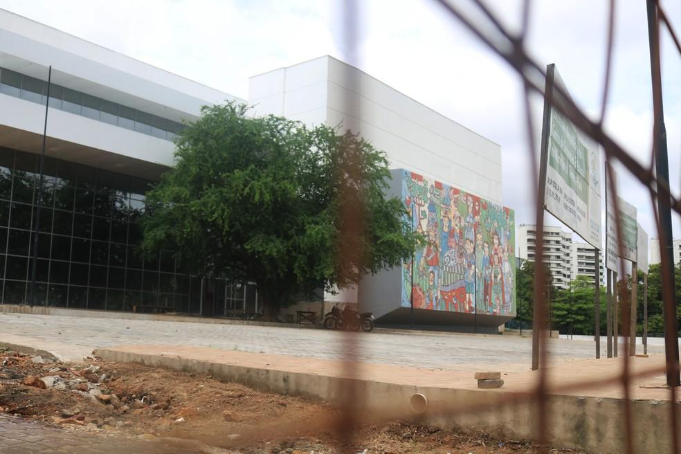 Centro de Convenções de Teresina está entre os projetos.  — Foto: Maria Romero/G1
