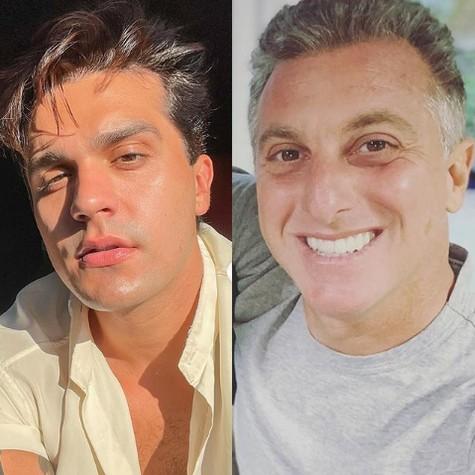 Luan Santana e Luciano Huck (Foto: Reprodução)