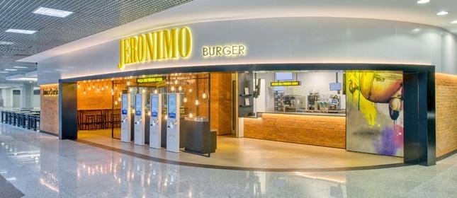 Jeronimo Burger: agora no Satos Dumont
