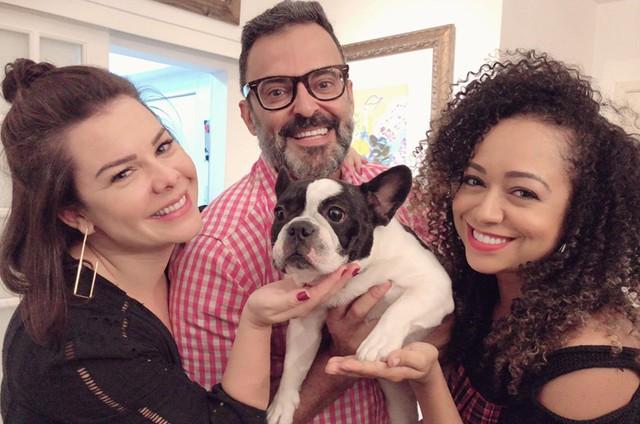 Fernanda Souza, Roberto Monteiro e Aretha Oliveira (Foto: Elisangela Monteiro)