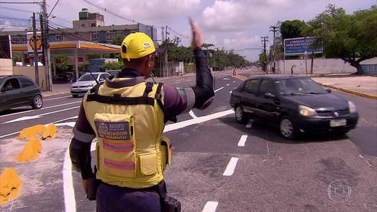 Mudança no trânsito do Recife atinge avenidas Norte, Cruz Cabugá, vias no entorno e linhas de ônibus