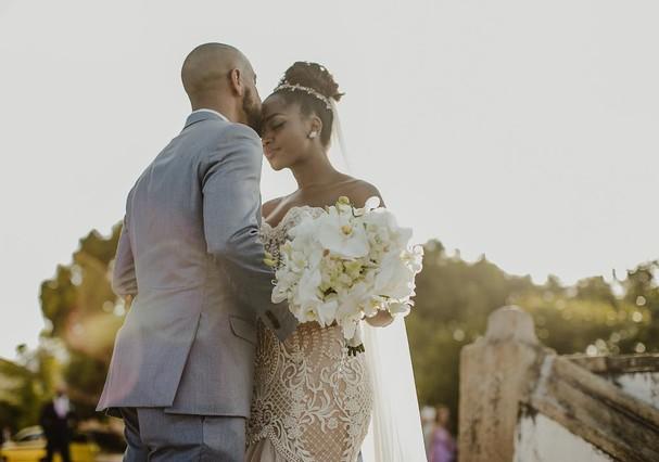 Casamento de Iza e Sergio Santos (Foto: Divulgação)