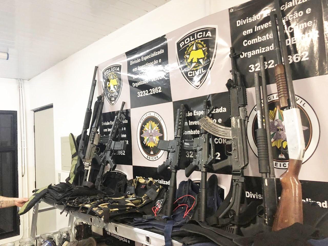 Projeto de lei prevê gratificação a policiais que apreenderem armas e munições no RN