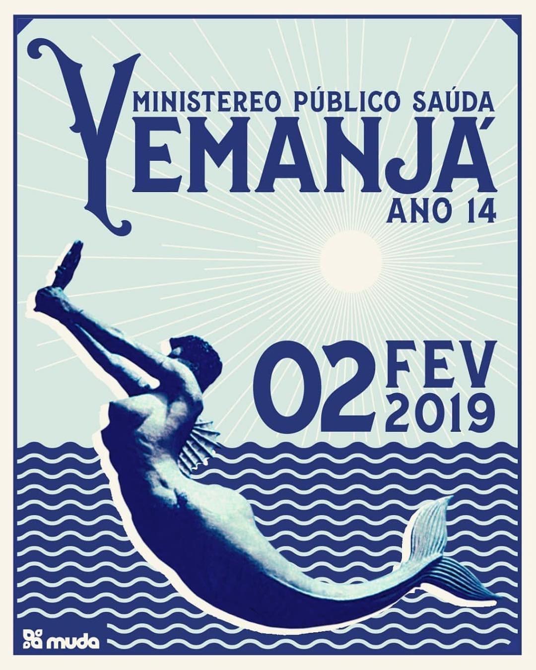 Cartaz Festa de Iemanjá (Foto: Reprodução/ Instagram)