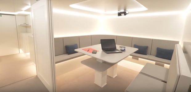 A Airbus criará um novo espaço para melhorar a experiência dos passageiros (Foto: Divulgação / Airbus)