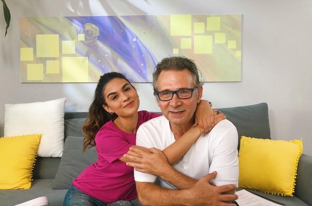 Allana Lopes e Nelson Freitas (Foto: Arquivo pessoal)
