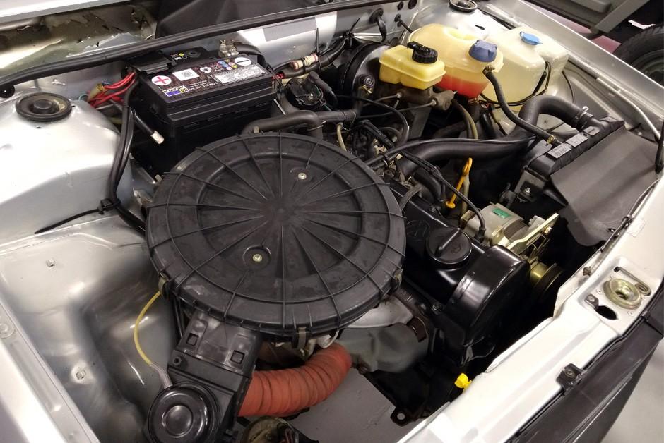Motor AP 1600, velho conhecido na família Gol, era muito caro para o Projeto BY (Foto: Ulisses Cavalcante/Autoesporte)