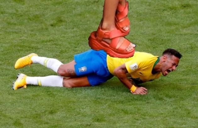 Neymar virou alvo dos memes após declarar apoio a Prior (Foto: Reprodução/Twitter)