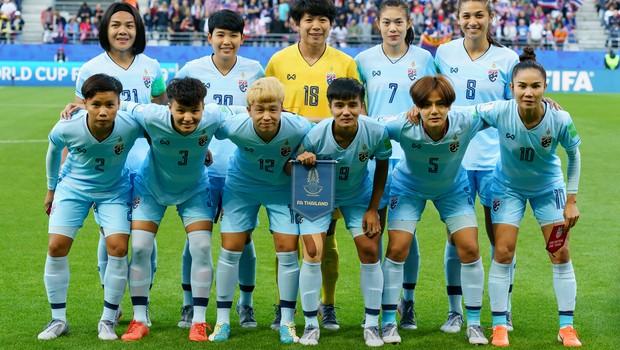 Seleção tailandesa de futebol feminino (Foto: Getty Images)